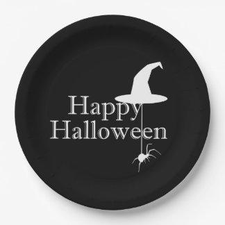 Plato De Papel Placas de papel del fiesta del feliz Halloween de