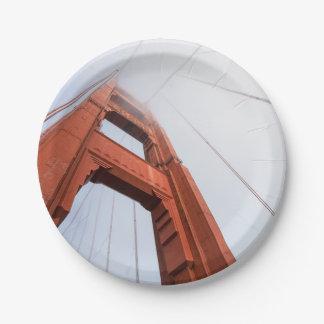 Plato De Papel Puente Golden Gate