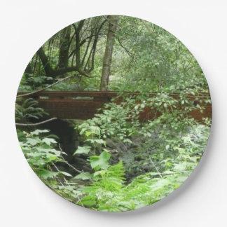 Plato De Papel Puente I de maderas de Muir