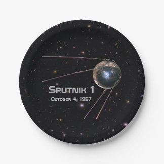 Plato De Papel Satélite de Sputnik 1