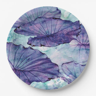 Plato De Papel Surrealismo botánico