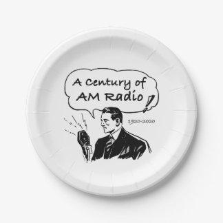 Plato De Papel Un siglo de radio de la