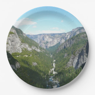 Plato De Papel Valle de Yosemite en el parque nacional de