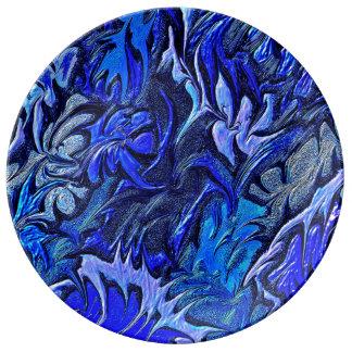 Plato De Porcelana Aurora Floralis