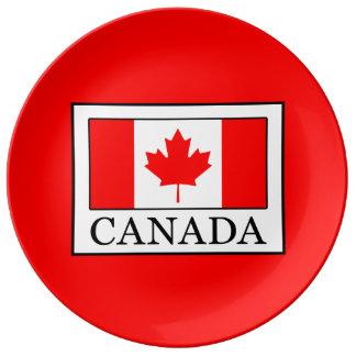 Plato De Porcelana Canadá