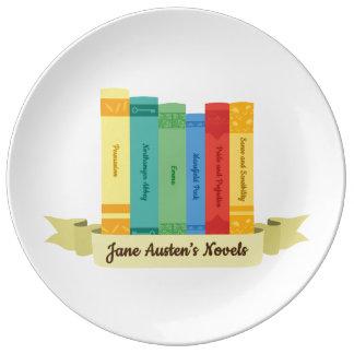 Plato De Porcelana Las novelas de Jane Austen III