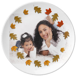 Plato De Porcelana Madre y niño