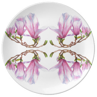 Plato De Porcelana Magnolia