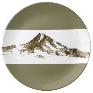 Plato De Porcelana Mt. Capilla, Oregon