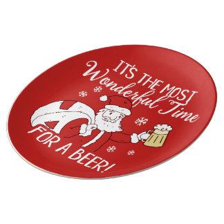 Plato De Porcelana Navidad la mayoría del tiempo maravilloso para una