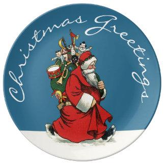 Navidad tradicional de Papá Noel del vintage