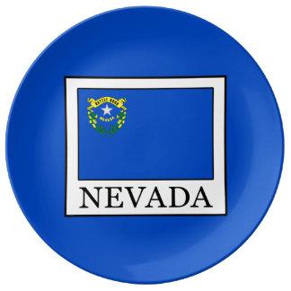 Plato De Porcelana Nevada