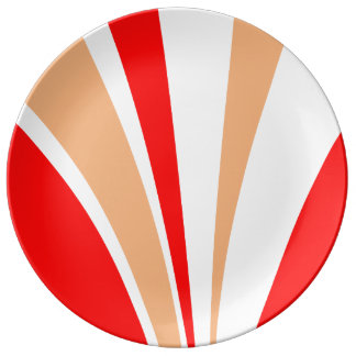 Plato De Porcelana Placa decorativa de la porcelana