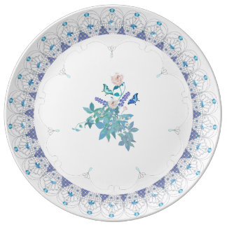 Plato De Porcelana Placa formal francesa