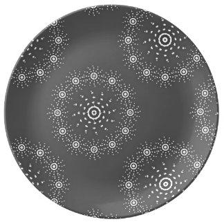 Plato De Porcelana Placa grande de la porcelana
