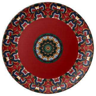 Plato De Porcelana Placas en mayólica/Talavera italianas decorativas