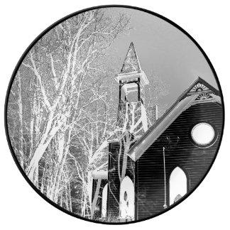 Plato De Porcelana Valle de la hierba, iglesia presbiteriana de