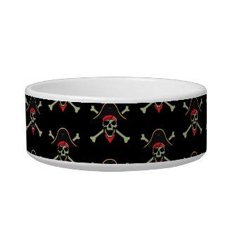 Plato del mascota del pirata