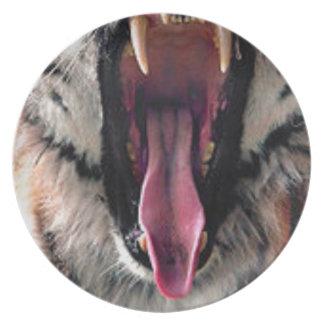 Plato Dientes del transporte del tigre