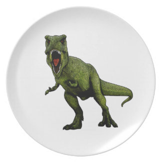 Plato Dinosaurios T-Rex