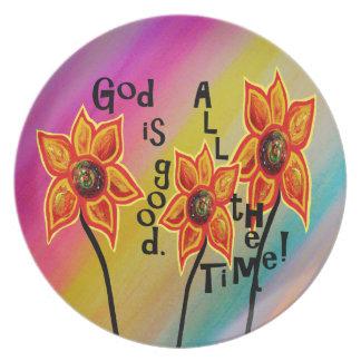 Plato Dios es bueno todo el tiempo