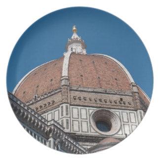 Plato Duomo en Florencia Italia