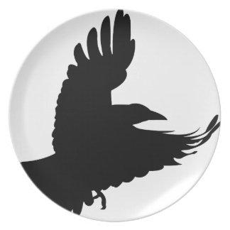 Plato El cuervo negro