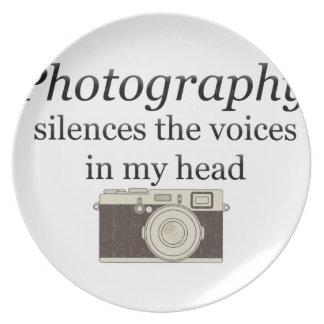 Plato el pstvimhPhotography silencia las voces en mi