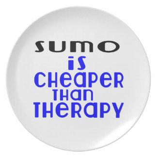 Plato El sumo es más barato que terapia