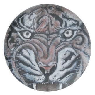 Plato En el Borde-Tigre