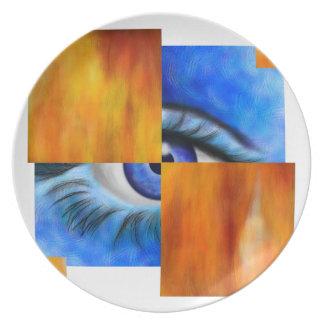 Plato Ersebiossa V1 - ojo ocultado fuera trasero