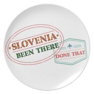 Plato Eslovenia allí hecho eso