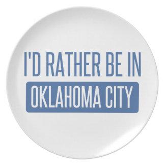 Plato Estaría bastante en el Oklahoma City