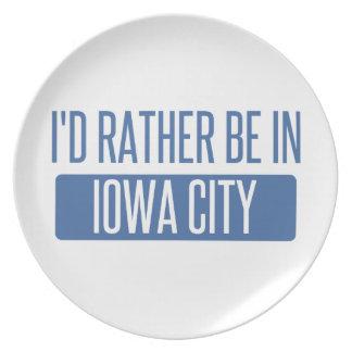 Plato Estaría bastante en Iowa City
