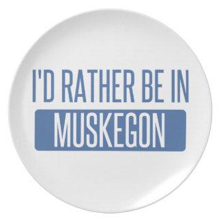 Plato Estaría bastante en Muskegon