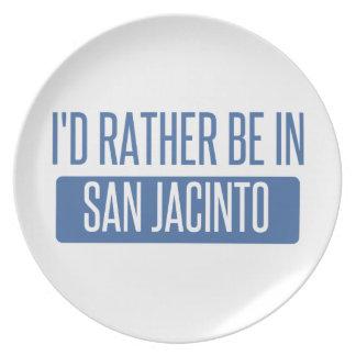 Plato Estaría bastante en San Jacinto