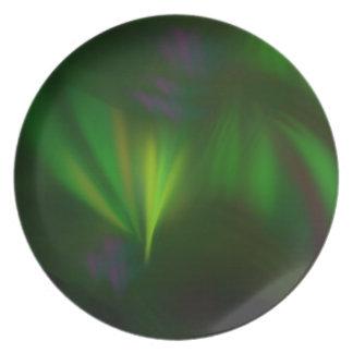 Plato Este fractal parece aurora