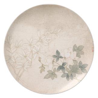 Plato Estudio 2 de la flor - YUN Bing (chino)