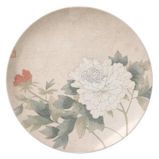 Plato Estudio de la flor - YUN Bing (chino)