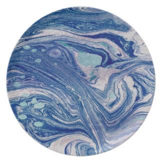 Plato Extracto mezclado de la placa de la melamina del