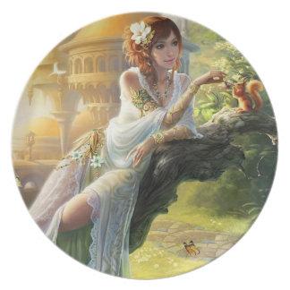 Plato Fantasía mágica y mística