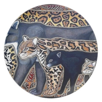 Plato Felinos de Costa Rica - Big cats