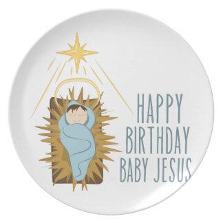 Plato Feliz cumpleaños Jesús