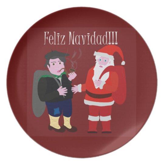 Plato Feliz Navidad