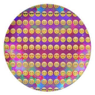Plato Galaxia Emojis