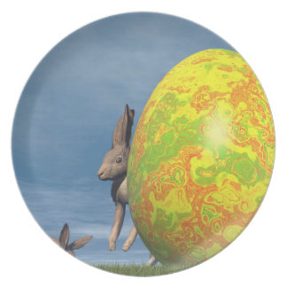 Plato Huevo de Pascua - 3D rinden