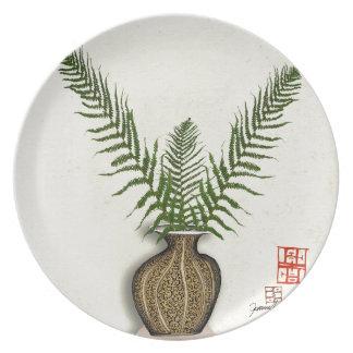 Plato ikebana 17 por los fernandes tony