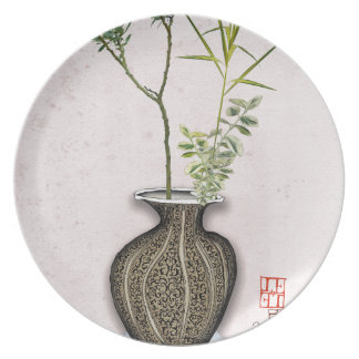 Plato Ikebana 6 por los fernandes tony