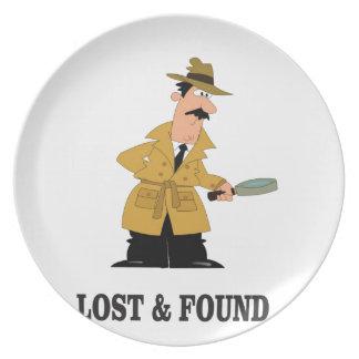 Plato individuo perdido y encontrado