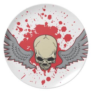 Plato Ir volando-Cráneo